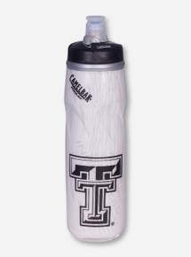 "Camelbak Texas Tech ""Podium Big Chill"" Double T White Water Bottle"