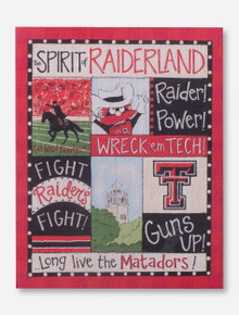 Texas Tech Spirit of Raiderland Magnet