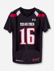 Under Armour Texas Tech Player's YOUTH Jersey