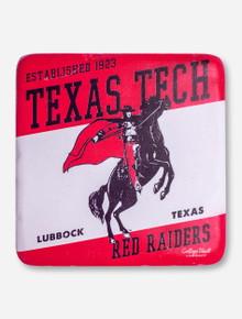 Vintage Masked Rider Texas Tech Trivet