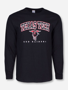 Texas Tech Classic Arch with Masked Rider Long Sleeve