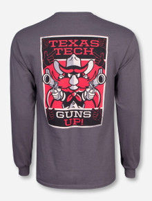 Texas Tech ESPN on Charcoal Long Sleeve