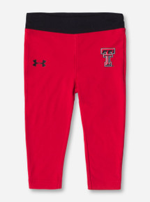Under Armour Texas Tech Double T INFANT Red Leggings