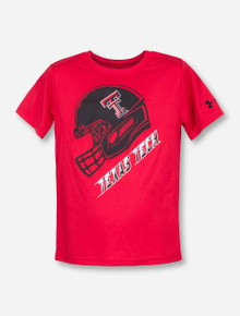 "Under Armour Texas Tech ""Rush"" KIDS Red T-Shirt"