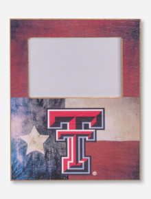 Texas Tech Lone Star and Double T Frame