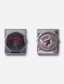 Set of 2 Texas Tech Dome Magnet Clips
