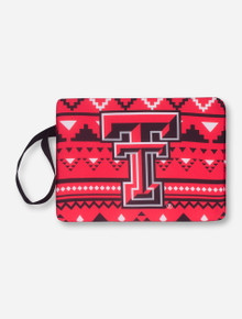 Texas Tech Double T Aztec Red Stadium Seat/Bleacher Cushion