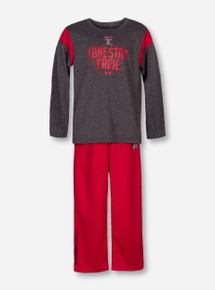 Under Armour Texas Tech Lone Star Pride TODDLER Shirt and Pant Set