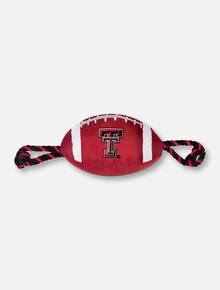 Texas Tech Red Raiders Double T Red Football Pet Toy