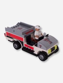 Lego Compatible Texas Tech Trainer Cart