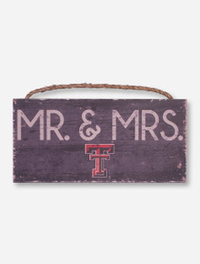 Mr. And Mrs. Double T Sign - Texas Tech