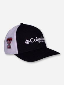 Columbia Texas Tech PFG Mesh Fitted Cap