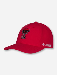 "Columbia Texas Tech PFG ""Pique"" Stretch Fitted Cap"