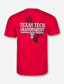 Texas Tech State Grandparent Red T-Shirt
