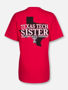 Texas Tech State Sister Red T-Shirt
