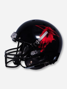 Schutt Texas Tech Metallic Masked Rider Black Replica Helmet