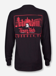 Texas Tech Snowglobe Long Sleeve Shirt