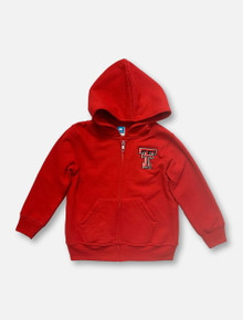 """Texas Tech Red Raiders Double T """"Precious Cargo"""" TODDLER Red Full-Zip Hoodie"""