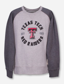 "Garb Texas Tech ""Jay"" YOUTH Heather Grey Sweatshirt"