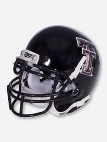 Schutt Texas Tech Limited Edition Camo Double T on Black Mini Helmet