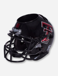 Texas Tech Metallic Red and Black Helmet Desk Caddy