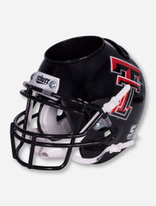 Texas Tech Double T Black Helmet Desk Caddy
