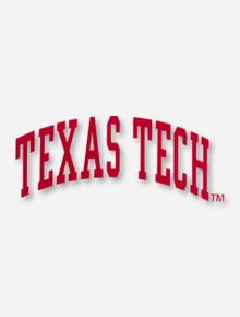 Texas Tech Arch Decal