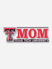 Texas Tech Mom with Double T Decal