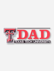 Texas Tech DAD with Double T Decal