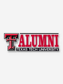 Texas Tech Alumni with Double T Decal