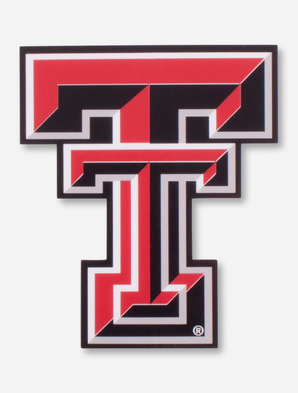Texas tech double t. Full color decal