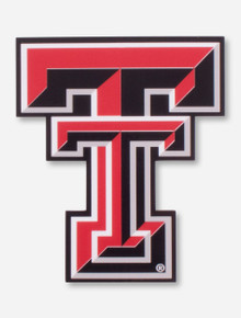 Texas Tech Full Color Double T Decal