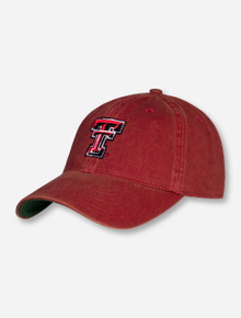 Legacy Texas Tech Rustic Red Double T Snapback Cap