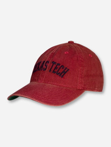 Legacy Rustic Red Texas Tech Arch Snapback Cap