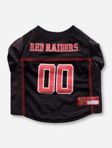 Texas Tech Red Raiders #00 Black Pet Jersey