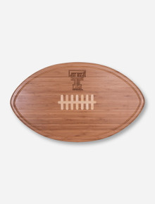 Texas Tech Double T Kickoff Bamboo Cutting Board and Serving Tray