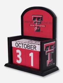 Texas Tech Perpetual Calendar
