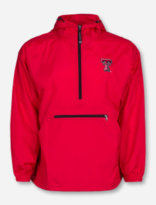 """Charles River Texas Tech """"Pack N Go"""" Half Zip Pullover"""