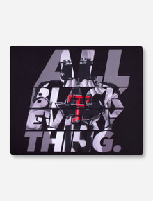 Texas Tech All Black Everything Mouse Pad