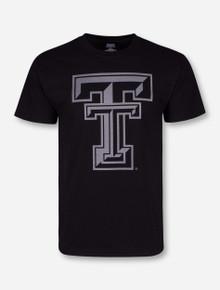 Texas Tech Black Diamond Double T Reflective Black T-Shirt