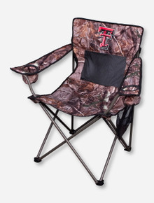 Texas Tech RealTree Camo Canvas Chair