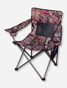 Texas Tech RealTree Camo Canvas Chair