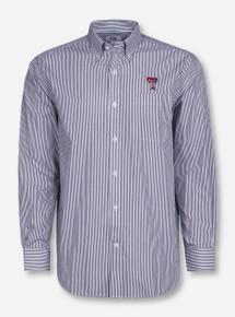 """Cutter & Buck Texas Tech """"Mini Bengal"""" Long Sleeve Dress Shirt"""