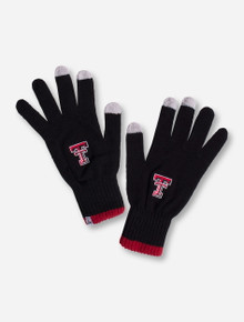 47 Brand Texas Tech Classic Knit Touch Screen Gloves