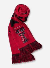 Texas Tech Reversible Knit Red Scarf