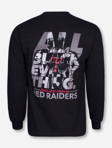 All Black Everything Black Long Sleeve Shirt - Texas Tech