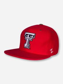 "Zephyr Texas Tech ""Booster"" Red Adjustable Cap"