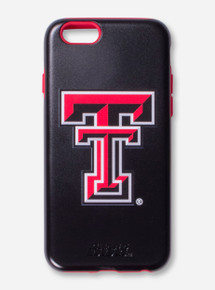 Texas Tech Red Raiders Double T Black & Red Phone Case