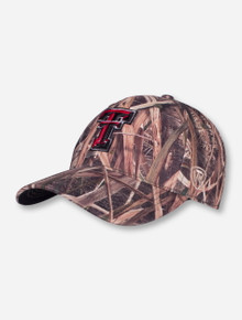 Top of The World Texas Tech Double T Camo Stretch Fit Cap