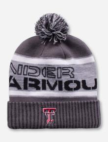"""Under Armour Texas Tech """"Aspen"""" Grey Beanie"""
